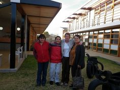 Cesar proud of his new orthopedic shoes, together with his mam,me and his grandmother by PAZ-Holandesa, via Flickr