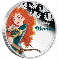 Buy the Disney Princess – Merida 2016 1oz Silver Proof Coin from The Perth Mint, featuring Disney Princess – Merida 2016 1oz Silver Proof Coin. No more than 10,000 of the Disney Princess – Merida 2016 1oz Silver Proof Coin will be released. | eBay!