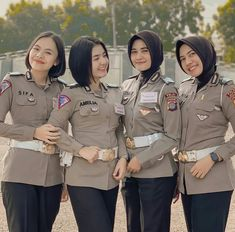 Doa Islam, Military Jacket, Exo, Police, Dreams, Female, Jackets, Beauty, Beautiful