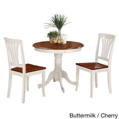 3 Piece Kitchen Nook Dining Set Small Kitchen Table And 2 Kitchen Chairs