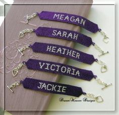 Great gifts for the wedding party.Pretty Little Liar Bracelets