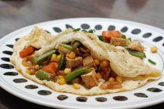 Fotorecept: Tofu omeleta
