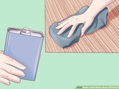 3 Ways to Get Water Stains Off Wood - wikiHow