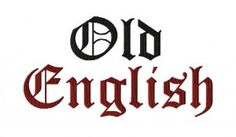 Free Old English Machine Embroidery Font Set