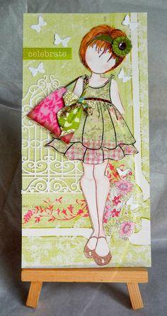 Summer Dolls,idea de la bolsa en su hombro