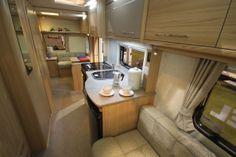 Coachman Vision 570 6 Berth Caravan 2014 Model Image Stacked Washer Dryer, Washer And Dryer, 6 Berth Caravan, Caravans For Sale, Derbyshire, Home Appliances, Model, Image, House Appliances