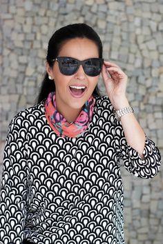Look da Camis | Camila Gomes | Sim, Senhorita | Blusa e Calça Zara, lenço Animale, Bolsa Adô, óculos Giorgio Armani, Sapatilha Shoestock