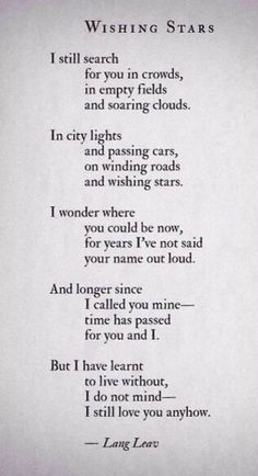 poem quotes 11 Poems By Lang Leav That Will Make Y - quotes Poem Quotes, Words Quotes, Life Quotes, Sayings, Life Poems, Quotes That Rhyme, Quotes On Poetry, Quotes On Stars, Love Quotations