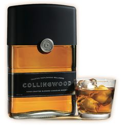 Always judge a beverage by its bottle. Collingwood is clean, modern and a great addition to any whiskey afficionado's collection