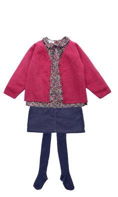 Marie Puce Paris - vêtements de créateur pour enfant - Le look framboise