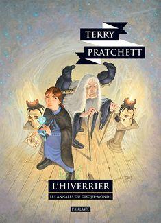 Nouvelle édition ! L'Hiverrier de Terry Pratchett, Les Annales du Disque-monde (livre 35, 2018) ©Paul Kidby / Leraf