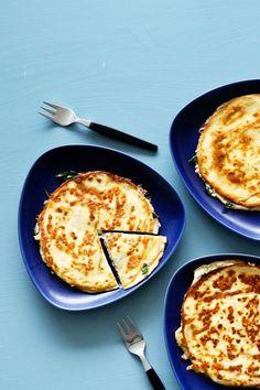 Keto Quesadillas - includes recipe for low carb tortillas