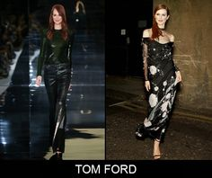In my opinion Julianne Moore will definitely be wearing an outfit from Tom Ford to the Oscars, but which one? #fashion #julianne #moore #oscars2015 #tom #ford