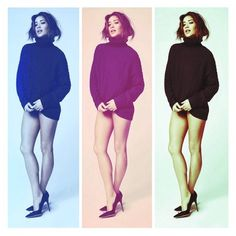 Shay Mitchell looks great in winter sweaters. | Pretty Little Liars
