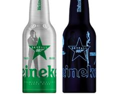 Heineken Releases James Bond-Themed Beer Bottles