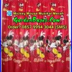 jual gorden mainan mickey mouse warna merah gorden mickey donal minnie disney pemesanan langsung via sms center di 085799943044 :) gordenbagus.com