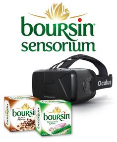 The Boursin Sensorium is a VR-Powered 3D Exploration of Cheese #interactive trendhunter.com
