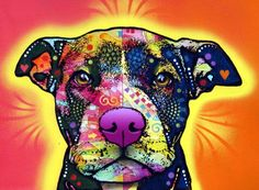 dog art OMG of that was a panting for sale I would buy that in a heart beat