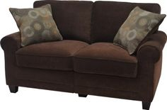 Serta at Home Trinidad Collection Love Seat, Chocolate Fabric, CR-43528 Serta at Home http://www.amazon.ca/dp/B00EUU5JI4/ref=cm_sw_r_pi_dp_NMjjwb0FTWSCN