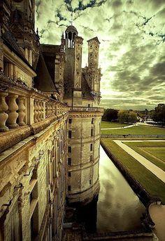 Beautiful Places...Château de Chambord, France, photo by audreylovesparis.
