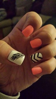 Love the feather and the pink