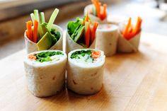 "Tortilla Rollups (aka ""Prairie Sushi"")   The Pioneer Woman Cooks   Ree Drummond"