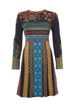 Jacquard Dress - Dress | Ivko Woman