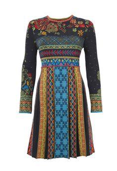 Jacquard Dress - Dress   Ivko Woman