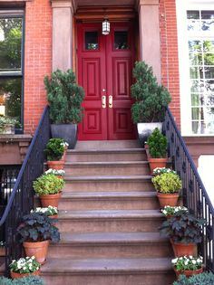 Beautiful Brownstone in Greenwich Village, NYC.  Love it!