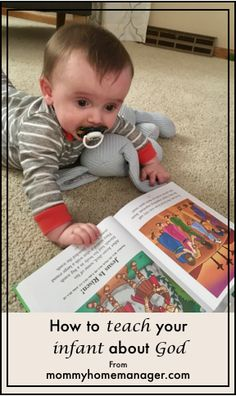 How to teach your infant about God – Mommy: Home Manager
