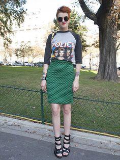 画像 : かっこよくて女らしい♪ロックファッション画像【着こなし・コーディネート】 - NAVER まとめ