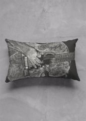 Trigger: Oblong accent pillow. What a beautiful product!