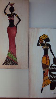 African Art Paintings, Watercolour Art, Penny Black, Tribal Art, Art Techniques, Black Art, Decoupage, Lisa, Creativity