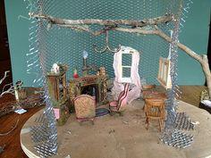 Tutorial: Fairy House Tree House by Torisaur, via Flickr