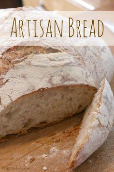Artisan Bread   FOODIEaholic.com #recipe #cooking #baking #bread #artisan #homemade