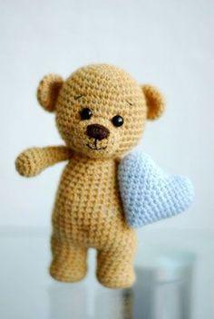 Teddy's – Monkey Stuffed Animal Crochet Animal Amigurumi, Crochet Teddy, Crochet Bunny, Cute Crochet, Crochet Animals, Crochet Dolls, Crochet Toys Patterns, Amigurumi Patterns, Stuffed Toys Patterns