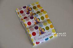Chocolates personalizados - Rapunzel  :: flavoli.net - Papelaria Personalizada :: Contato: (21) 98-836-0113  vendas@flavoli.net