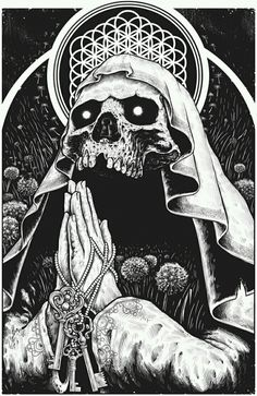 samsung wallpaper illustration Vitrales :: By Artist Kevin Contreras Amoretti Arte Horror, Horror Art, Art Épouvante, Art Sketches, Art Drawings, Arte Black, Art Du Croquis, Posca Art, Satanic Art