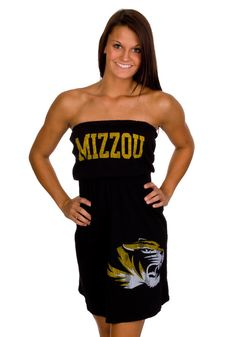 Missouri (Mizzou) Tigers Womens Black Vintage Tube Dress http://www.rallyhouse.com/shop/missouri-tigers-original-retro-brand-missouri-tigers-womens-black-vintage-tube-dress-4810262 $39.99
