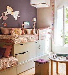 Ideas de almacenaje en habitaciones de niños