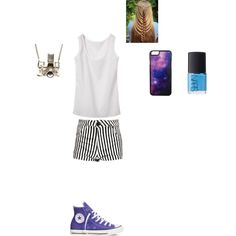 Summer Is Coming! by smith-emily-1 on Polyvore featuring Boohoo, Converse, Kiel Mead Studio, Roial and NARS Cosmetics