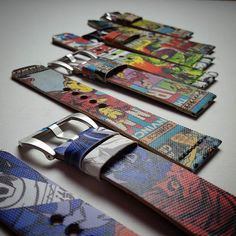Heroes are back in town  #handmade #handcrafted #luxury #unique #oneofakind #accessories #watchstrap #straps #fashion #manfashion #strap #bespoke #leather #leathercraft #custom #watch #timepiece #horology #wristcandy #comic #comicstrap #comicstrapcrew #hulk #sevenfriday by lionstraps