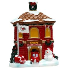 Kansas City Chiefs Holiday Village Firehouse