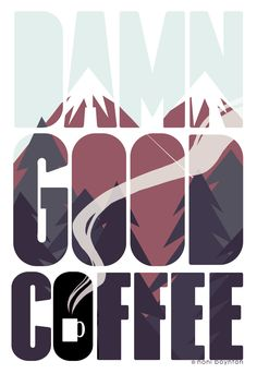 Twin Peaks Art by Noni Boynton. Makes me want a doughnut and a damn good cup of coffee.