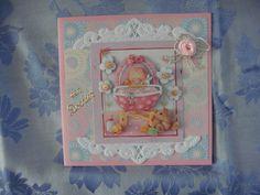 3d heukske geboorte kaartje