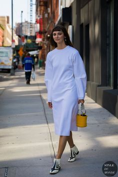 New York SS 2018 Street Style: Brie Welch