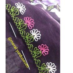 Easy needle lace models for new learners Easy needle lace models for new learners . Baby Knitting Patterns, Crochet Patterns, Crochet Unique, Easy Crochet, Crochet Toys, Farm Crafts, Diy And Crafts, Embroidery Stitches, Hand Embroidery