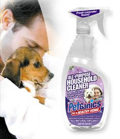 Pet Safe organic cleaner, PetGanics
