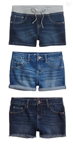 Build your summer look from the bottom up, starting with your fave denim shorts.