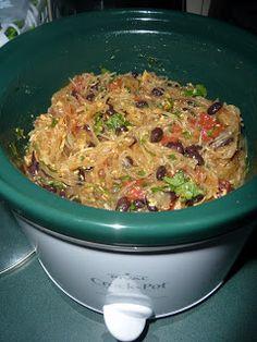 Clean Eating Machines: Southwest Spaghetti Squash